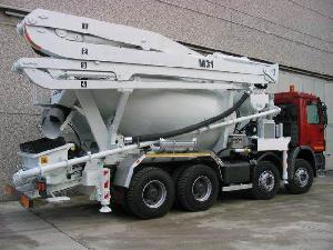 Truck Mixer Concrete Pumps