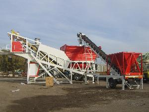 MOBILE CONCRETE BATCHING PLANT CAPACITY 60 m3/hr